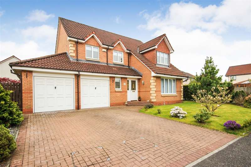 4 Bedrooms Detached House for sale in Inch Colm Avenue, Larbert