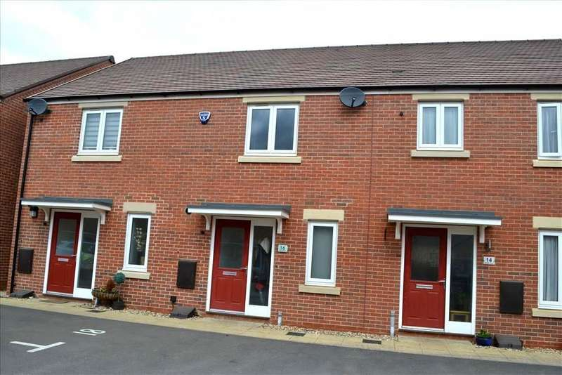 2 Bedrooms Terraced House for sale in Whittle Drive, Biggleswade, SG18