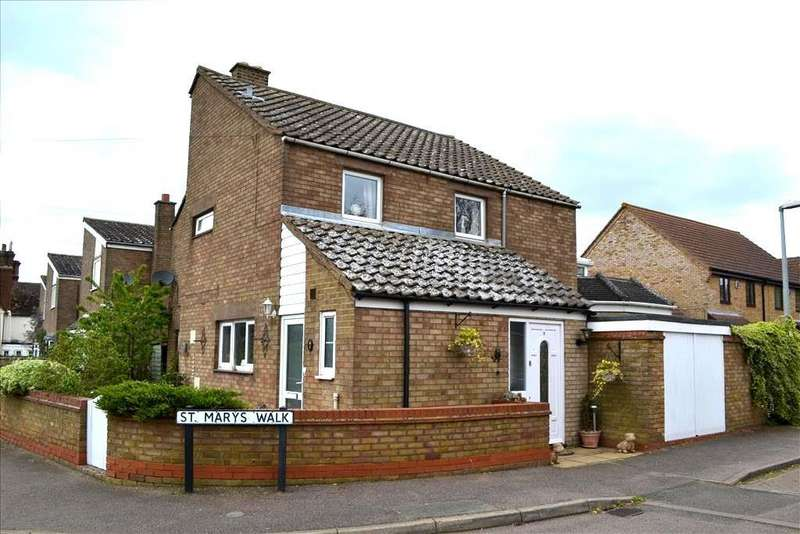 3 Bedrooms Detached House for sale in Potton Road, Everton, Sandy, SG19