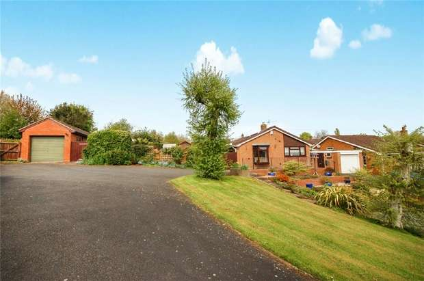 3 Bedrooms Detached Bungalow for sale in Ludlow Heights, BRIDGNORTH, Shropshire
