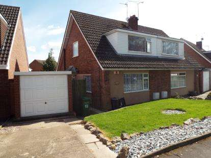 Semi Detached House for sale in Seaton Road, Wigston, Leicestershire