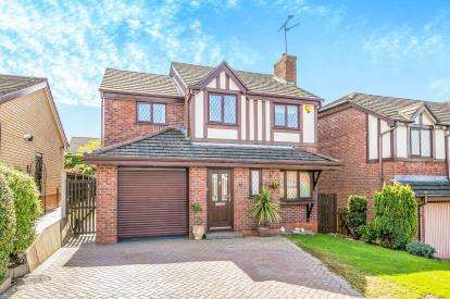 4 Bedrooms Detached House for sale in The Beeches, Hope, Wrexham, Flintshire, LL12