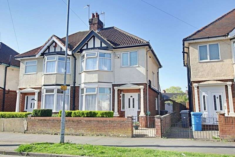 3 Bedrooms Semi Detached House for sale in Oldstead Avenue, Hull