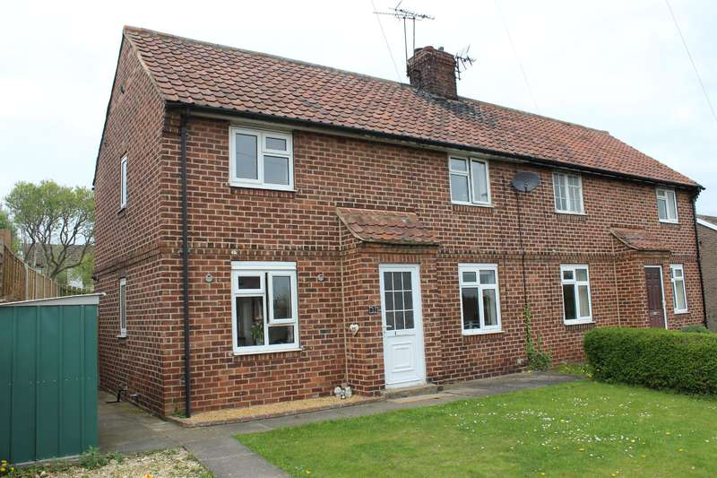 2 Bedrooms Semi Detached House for sale in Lyndon Avenue, Bramham, Wetherby, LS23 6RG