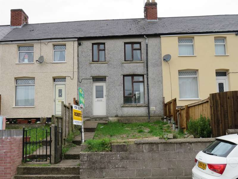 3 Bedrooms Terraced House for sale in Meadow Terrace, Phillipstown, New Tredegar