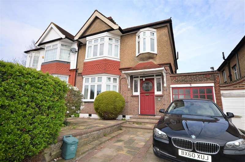 3 Bedrooms Semi Detached House for sale in Toley Avenue, Wembley, Middlesex, HA9 9TB