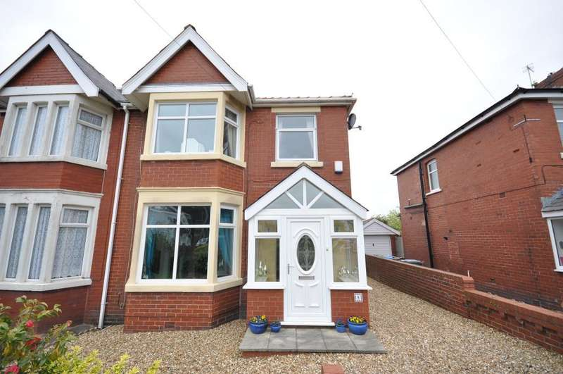 3 Bedrooms Semi Detached House for sale in Peel Hill, Westby With Plumptons, Lancashire, FY4 5JP