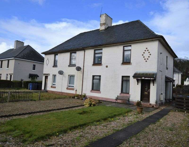 2 Bedrooms Flat for sale in Old Greenock Road, Renfrew