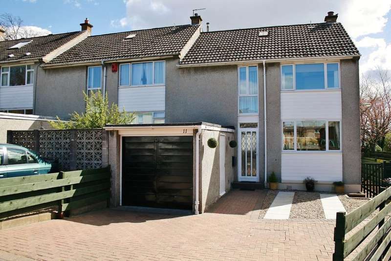 3 Bedrooms End Of Terrace House for sale in 11 Falkland Gardens, Corstorphine, Edinburgh EH12 6UW