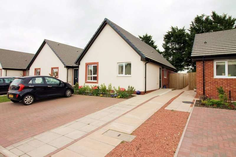 2 Bedrooms Semi Detached Bungalow for sale in Longtown, Carlisle