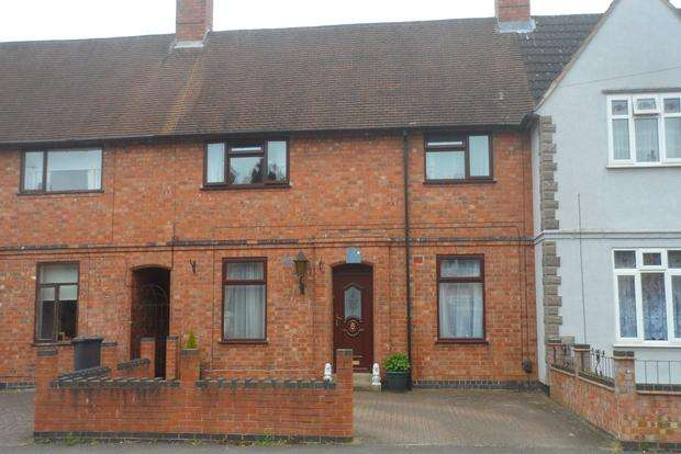 3 Bedrooms Terraced House for sale in Caldecote Road, Leicester, LE3