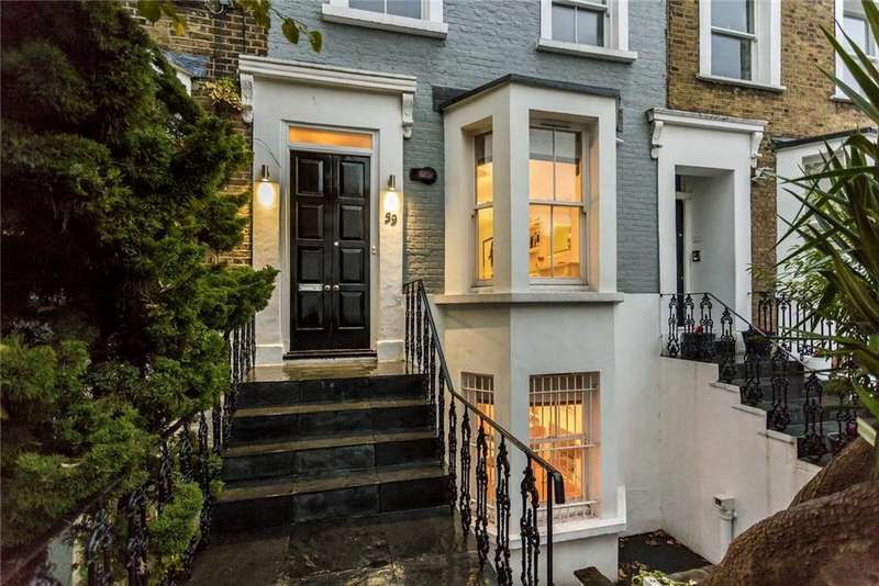 4 Bedrooms Terraced House for sale in Maxwell Road, Fulham, London, SW6