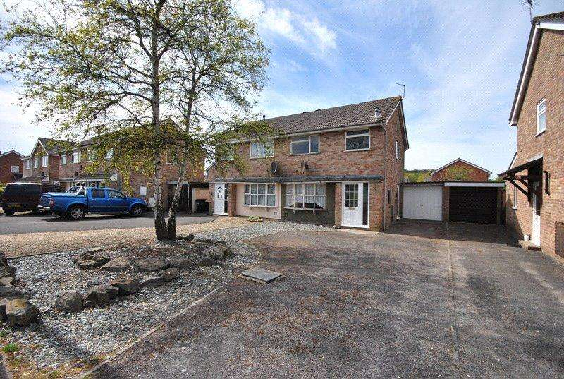3 Bedrooms Semi Detached House for sale in Madam Lane, Worle, Weston-Super-Mare, BS22