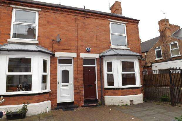 2 Bedrooms End Of Terrace House for sale in Thurgarton Avenue, Nottingham, NG2