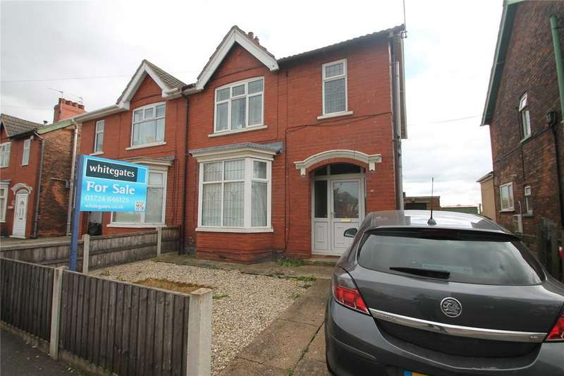 3 Bedrooms Semi Detached House for sale in Webster Avenue, Scunthorpe, North Lincolnshire, DN15