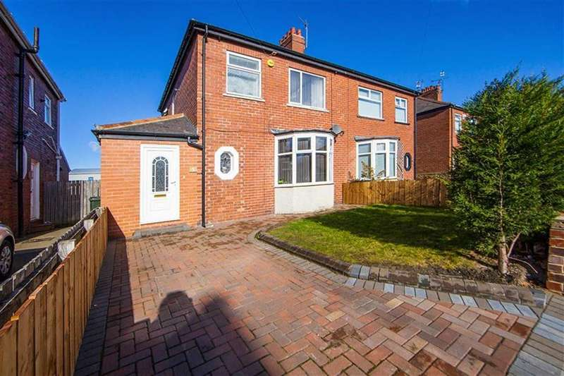 3 Bedrooms Semi Detached House for sale in Iolanthe Crescent, Walkergate, Newcastle Upon Tyne, NE6