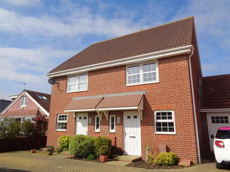 2 Bedrooms Semi Detached House for sale in Osborne Way, Rose Green