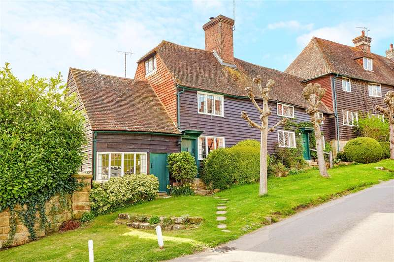 3 Bedrooms Semi Detached House for sale in Bird in Hand Street, Groombridge, Tunbridge Wells, Kent, TN3