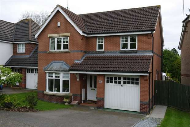 4 Bedrooms Detached House for sale in Alvington Way, Market Harborough, Leicestershire