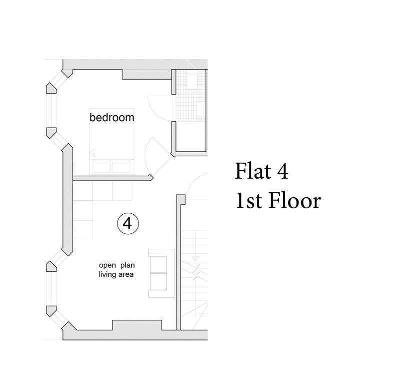 1 Bedroom Flat for sale in New One Bedroom Flat Close Swanage Town Centre