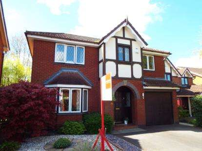 4 Bedrooms Detached House for sale in Old Oak Gardens, Walton-Le-Dale, Preston, Lancashire