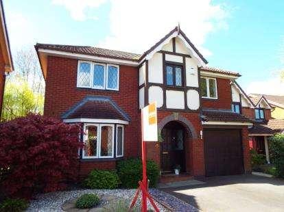 4 Bedrooms Detached House for sale in Old Oak Gardens, Walton-Le-Dale, Preston, Lancashire