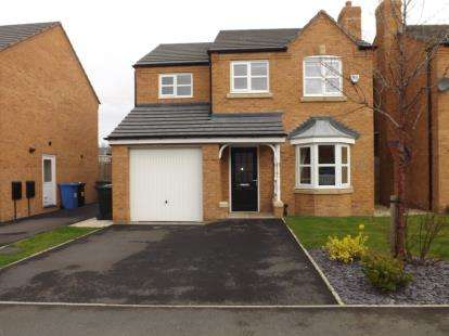 3 Bedrooms Detached House for sale in Powder Mill Road, Warrington