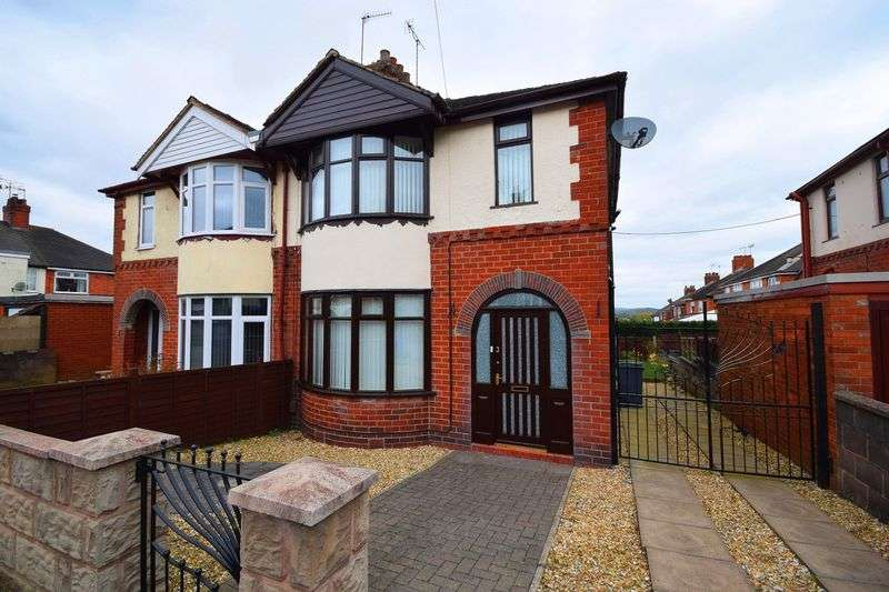 3 Bedrooms Semi Detached House for sale in Moss Side, Sneyd Green