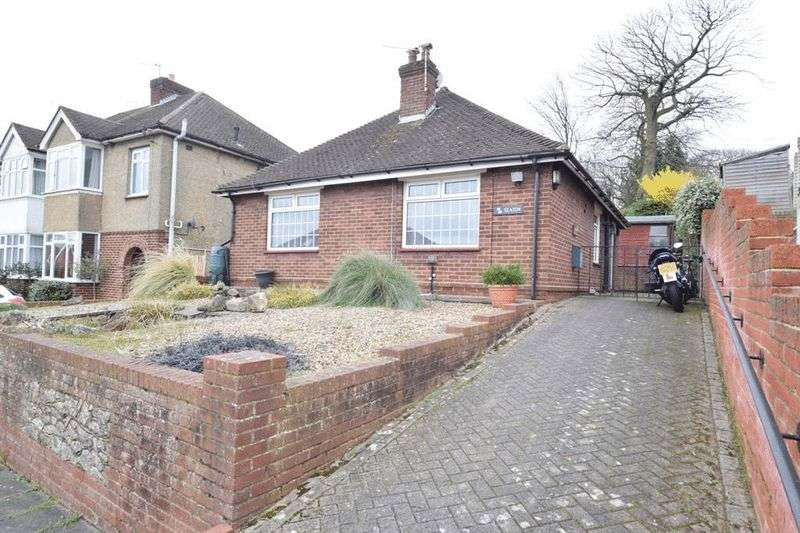 2 Bedrooms Detached Bungalow for sale in Woodland Way, Penenden Heath