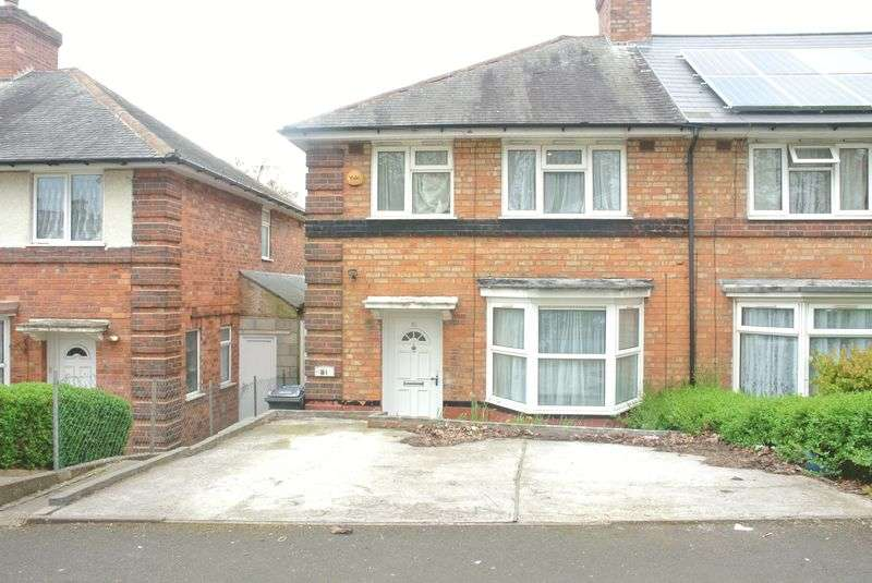 3 Bedrooms Terraced House for sale in Oakhurst Road, Birmingham