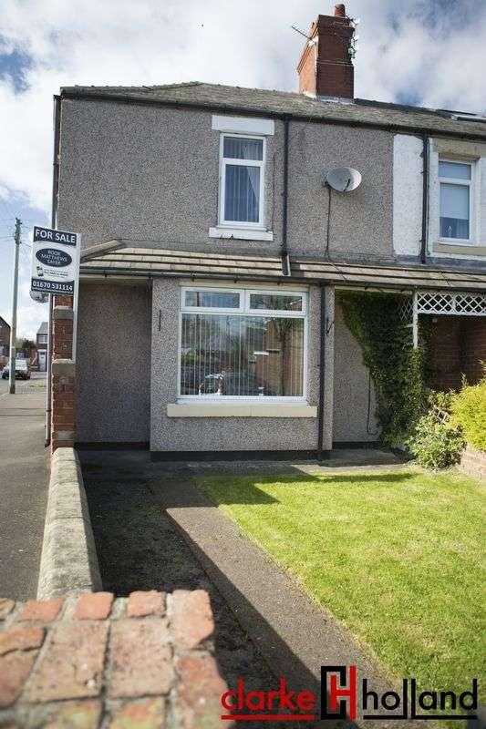 3 Bedrooms Terraced House for sale in Whitsun Gardens, Bedlington