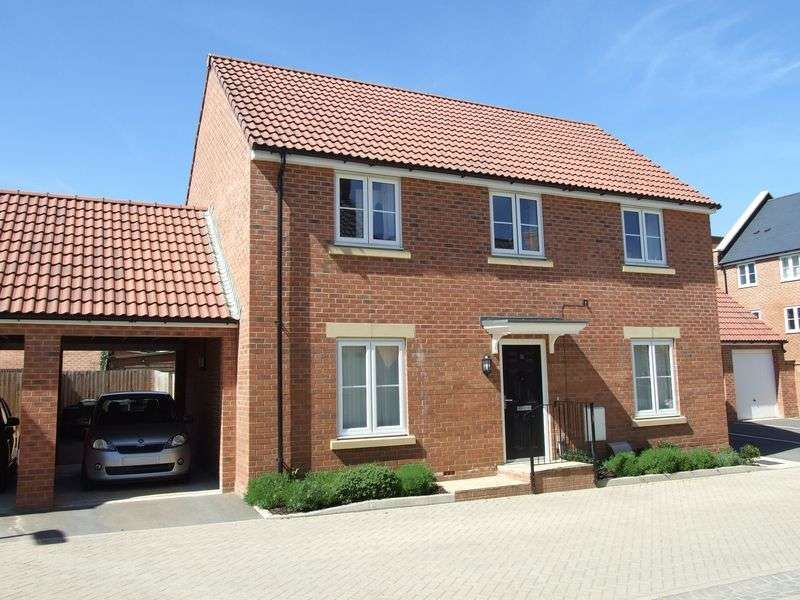 4 Bedrooms Detached House for sale in Barons Crescent, Trowbridge