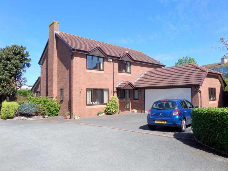 4 Bedrooms Detached House for sale in Marine Gardens, Deganwy