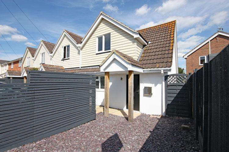 2 Bedrooms End Of Terrace House for sale in Buckland Mews, Lower Buckland Road, Lymington SO41