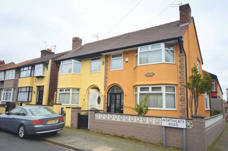 3 Bedrooms Semi Detached House for sale in Northgate Road, Liverpool