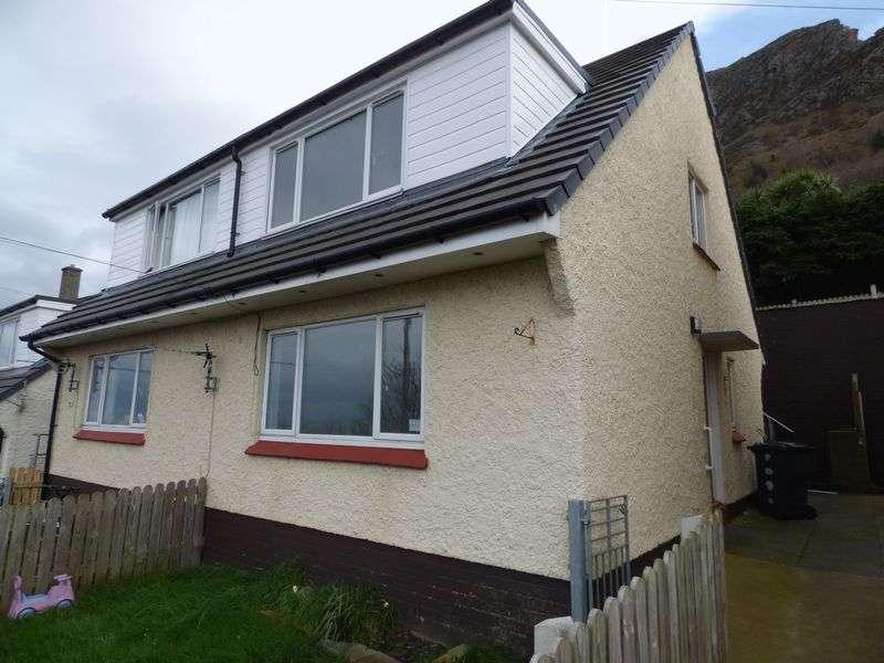 3 Bedrooms Semi Detached House for sale in Pendalar, Llanfairfechan