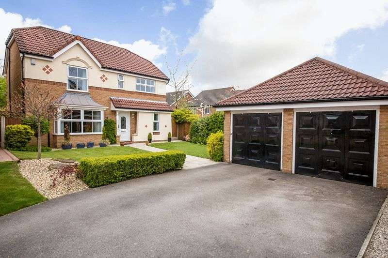 4 Bedrooms Detached House for sale in Blackledge Close, Orrell