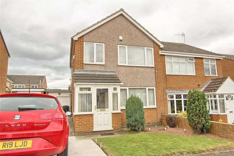 3 Bedrooms Semi Detached House for sale in Aviemore Road, Hemlington