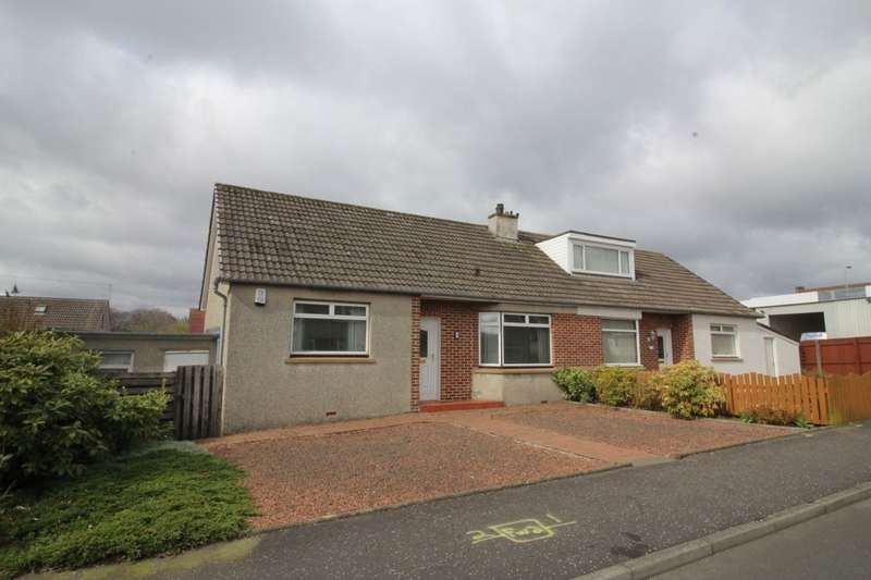 2 Bedrooms Semi Detached Bungalow for sale in Starlaw Crescent, Bathgate, EH48