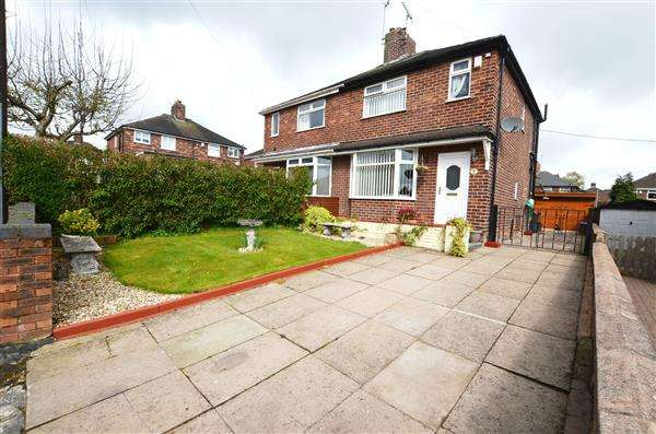 2 Bedrooms Semi Detached House for sale in Sycamore Grove, May Bank, Newcastle-under-Lyme