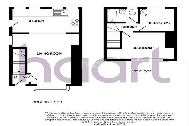 2 Bedrooms Semi Detached House for sale in Marshfield Way