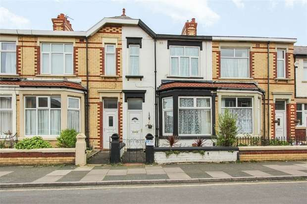 3 Bedrooms Terraced House for sale in Mayfield Avenue, Blackpool, Lancashire