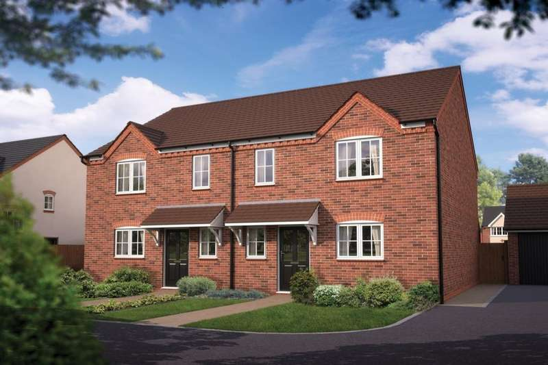 3 Bedrooms Semi Detached House for sale in The Southwold Iddeshale Gardens, Shifnal, TF11