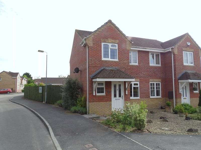 3 Bedrooms Semi Detached House for sale in Saxifrage Bank, Melksham