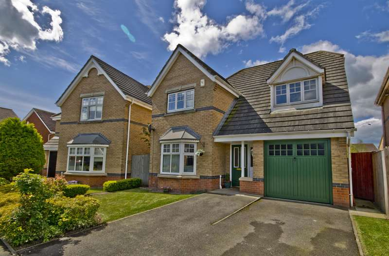 4 Bedrooms Detached House for sale in Grassholme Way, Eaglescliffe, TS16 0GB