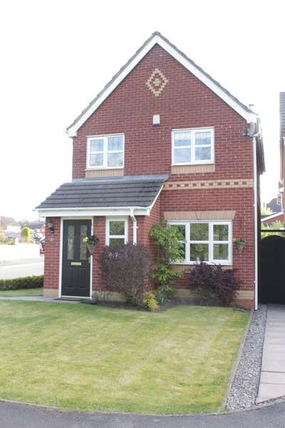 3 Bedrooms Detached House for sale in Tudor Rose Way, Norton, Staffordshire, ST6
