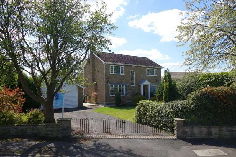 4 Bedrooms Detached House for sale in PRIORY PARK CLOSE, MONK FRYSTON, LS25 5ET