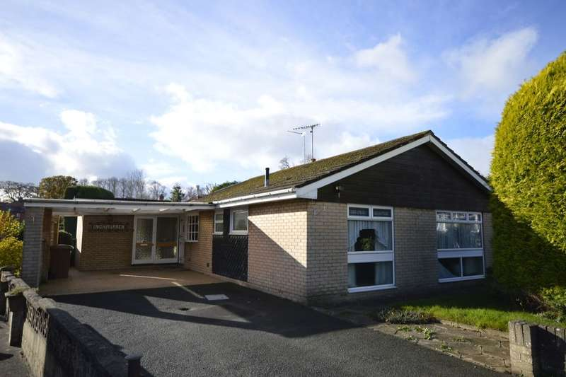 3 Bedrooms Detached Bungalow for sale in Cranbrook Drive, Oswestry, SY11