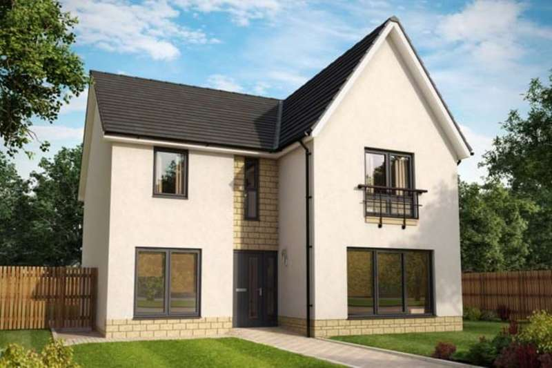 4 Bedrooms Detached House for sale in The Amethyst Fair Acres, Dunbar, EH42