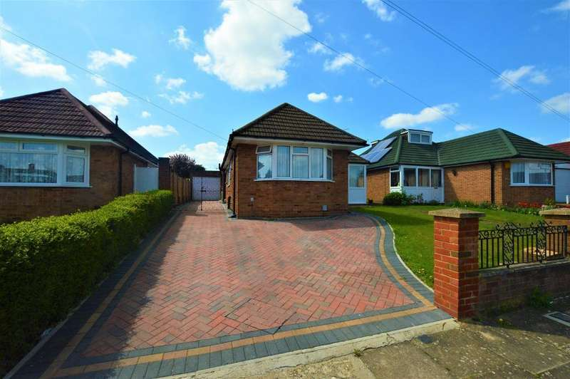 3 Bedrooms Detached Bungalow for sale in Homedale Drive, Luton, LU4 9TE